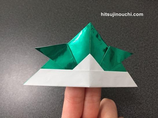 折り紙の兜2